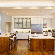 Contemporary Kitchen by James D. LaRue Architects