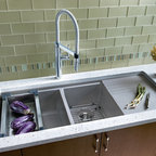 Kohler Stages Sink With Integrated Cutting Board And Prep