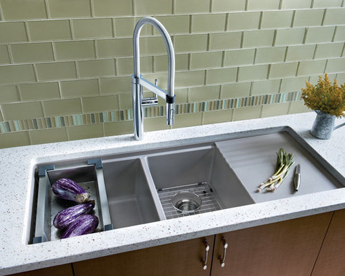 Best Undermount Drainboard Design Ideas & Remodel Pictures | Houzz