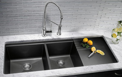 Kitchen Sinks Kitchen Sinks: Granite Composite Offers Superior Durability