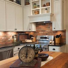 Craftsman Kitchen by Karzen Langan Construction