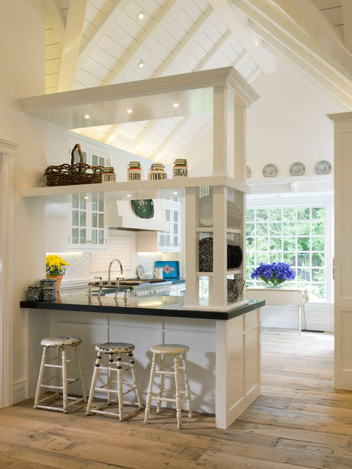 cathedral ceiling kitchen houzz. Black Bedroom Furniture Sets. Home Design Ideas