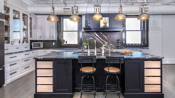 Blending old with new Loft kitchen