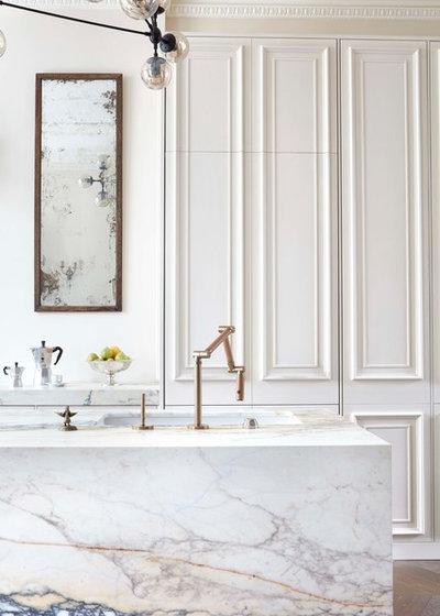 Transitional Kitchen by Blakes London