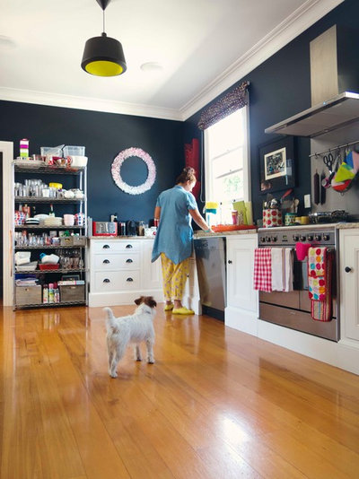 Eclectic Kitchen by Alex Fulton Design