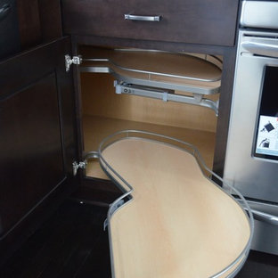 Blind Corner Base Cabinet with Pull-Out Shelves