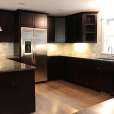 Craftsman Kitchen by Discount Glass Tile Store