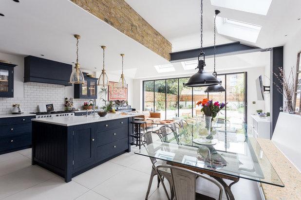 Transitional Kitchen by Robert's 21st Century Design