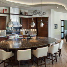 Contemporary Kitchen by Don Justice Cabinet Makers