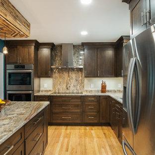 Bloomfield Hills Craftsman Kitchen