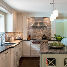 Transitional Kitchen by MainStreet Design Build