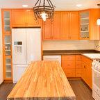 Kitchen1 - Contemporary - Kitchen - Los Angeles - by Erica Islas / EMI Interior Design, Inc.