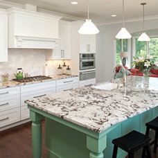 Traditional Kitchen by CRE Construction