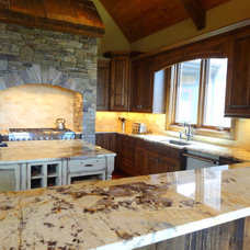 Traditional Kitchen by High Country Cabinets of Banner Elk