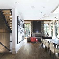 Contemporary Kitchen by Blu Bathworks