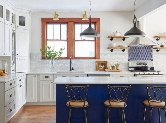 Traditional Kitchen by JASMIN REESE INTERIORS