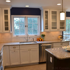 Traditional Kitchen by RJK Construction Inc