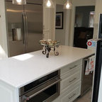 Oak Kitchen Cabinets | Dayton Door Style | CliqStudios - Contemporary - Kitchen - Minneapolis ...