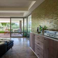 Contemporary Kitchen by The Tile Gallery