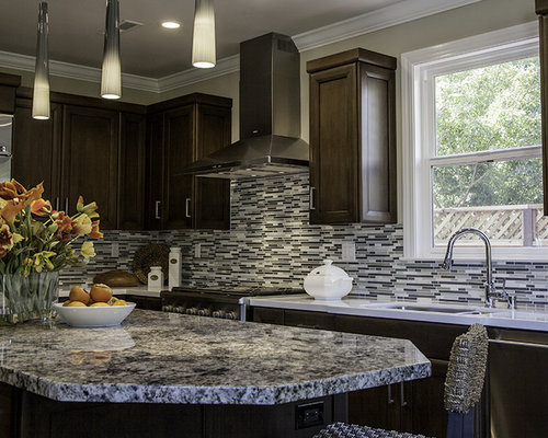Blue Flower Granite Home Design Ideas Pictures Remodel