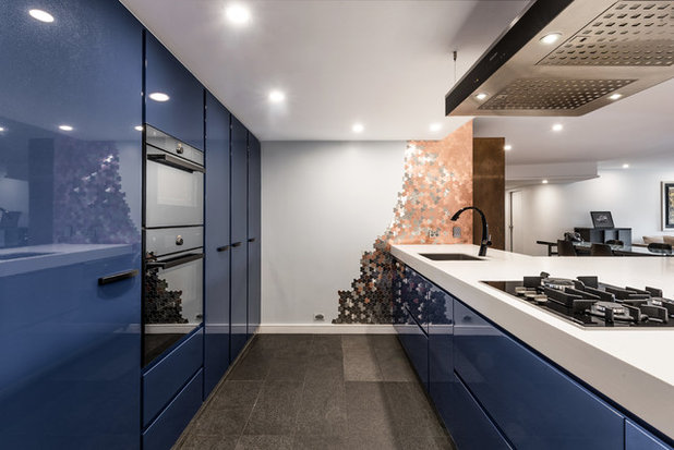Contemporary Kitchen by Blue Tea Kitchens and Bathrooms