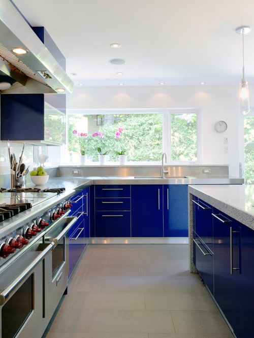 Cobalt Blue Kitchen Ideas