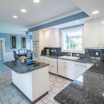 Blue Pearl Granite Kitchen