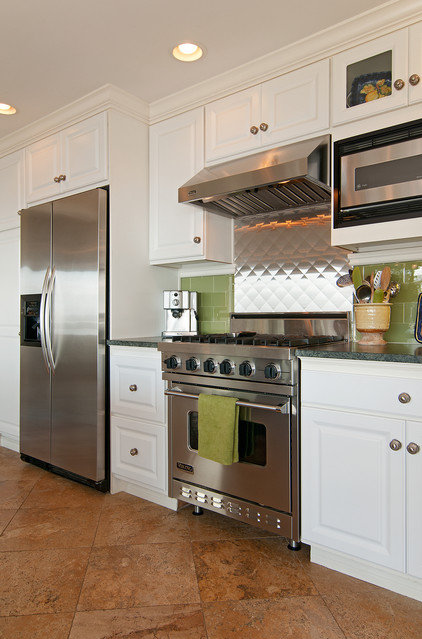 Eclectic Kitchen by Elizabeth P. Lord Residential Design LLC
