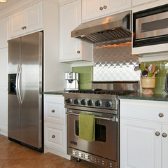 eclectic kitchen by Elizabeth P. Lord Residential Design