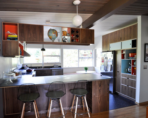 mid century modern kitchens ideas, pictures, remodel and decor,Mid Century Modern Kitchens,Kitchen ideas