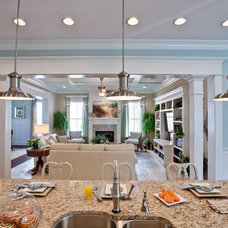Farmhouse Kitchen by Stephen Alexander Homes & Neighborhoods