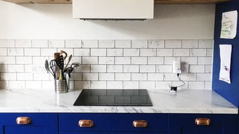 Blue Shaker Kitchen