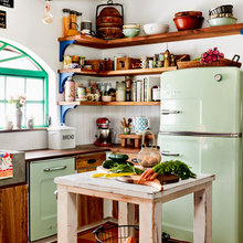 Eclectic and Retro Kitchens