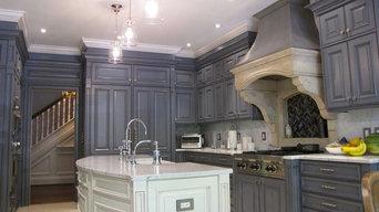 Blue Toned Maryland Kitchen