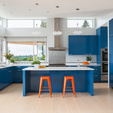 Contemporary Kitchen by Johnson Squared Architecture + Planning