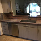 Second Sink Location Traditional Kitchen Chicago