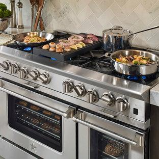 Modern kitchen ideas - Example of a minimalist kitchen design in Philadelphia