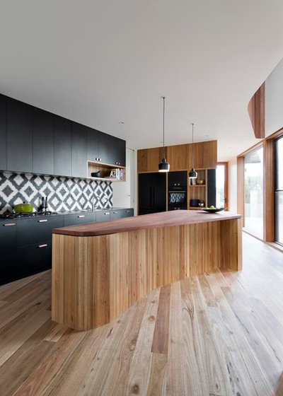 Contemporaneo Cucina by Auhaus Architecture