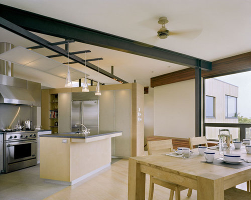 Exposed Steel Beams Houzz