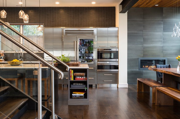 Contemporary Kitchen by Smith & Ragsdale Interior Design