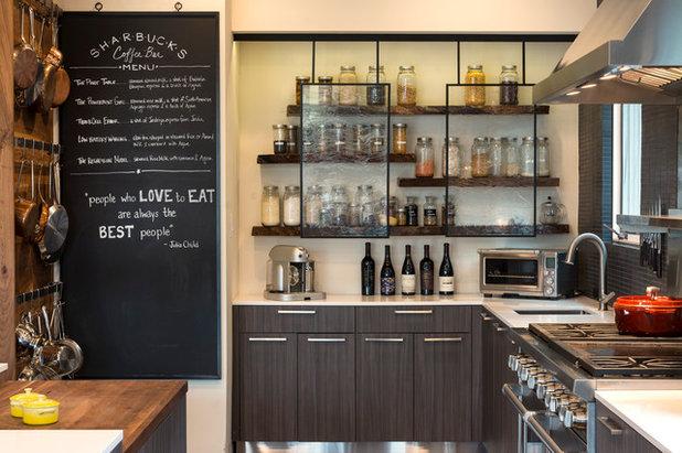 Industrial Kitchen by Smith & Ragsdale Interior Design