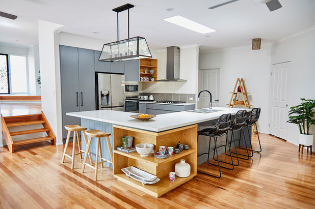 Contemporary Kitchen by Box Clever Interiors