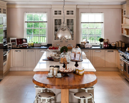 Traditional Kitchen Photos   Example Of A Classic U Shaped Kitchen Design  In Berkshire With
