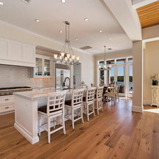 Tropical Kitchen by Foresite Homes