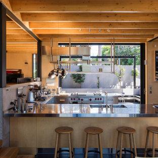 75 Most Popular New Zealand Slate Floor Kitchen Design Ideas For