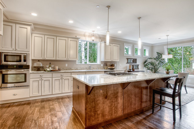Traditional Kitchen by Soundbuilt Homes