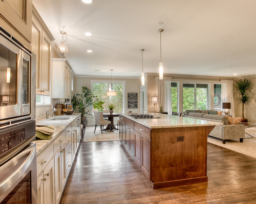 Kitchen Dining Room Remodel Open Concept