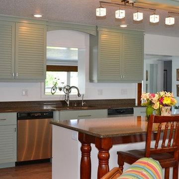 Bohemian/Key West style kitchen remodel