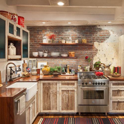 Ideas para cocinas fotos de cocinas comedor r sticas con - Cocina comedor rustica ...