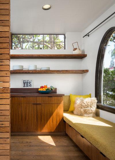 houzzbesuch edler holz mix f r einen hellen l a bungalow. Black Bedroom Furniture Sets. Home Design Ideas